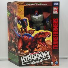 Hasbro Transformers -War for Cybertron- Kingdom Leader MAXIMAL T-WRECKS Figure!