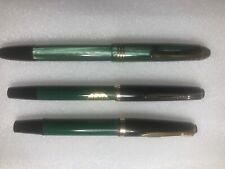 Three Vintage German Fountain Pens