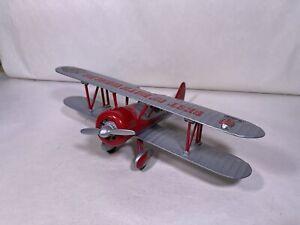 Spec Cast 1934 Stearman Case/International Harvester diecast airplane bank