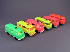 VW Volkswagen Camper Van - Original c1970s Plastic 1/52 Scale Model