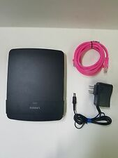 Linksys E1200 300 Mbps 4 Port 10/100 Wireless N Router N300 Wi-Fi Router *Tested