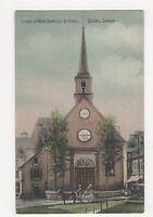 Canada, Church of Notre Dame Des Victoires Quebec Postcard, B167