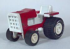 "Vintage Red Lawn Farm Yard Tractor Tonka Pressed Steel 4"" Scale Model"
