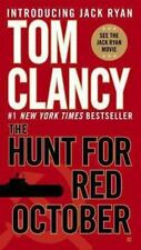 Jack Ryan #3: The Hunt for Red October by Tom Clancy (2010, Mass Market PB)