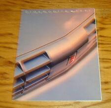 Original 1991 Oldsmobile Full Line Sales Brochure 91 Ninety Eight Toronado