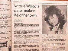 Aug-1983 Minneapolis Tribune TV Mag(LANA WOOD/BETTY WHITE/ROY THINNES/JAMIE ROSE