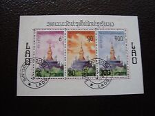 LAOS - 3 timbres obliteres (Y6) stamp