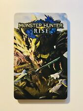 MONSTER HUNTER RISE Switch steelbook CASE ONLY (damaged see desc)
