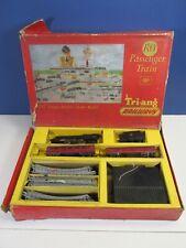 vintage TRI-ANG RO PASSENGER PRINCESS ELIZABETH TRAIN 46201 BOX SET OO gauge lot