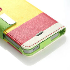 Magnetic Flip Stand PU Leather Wallet Case Card Holder Cover for iPhone 5 5S SE