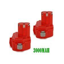 2 x AKKU für Makita 1220 1222 1233 1234 1235 192598-2 192698-A -- 12V 3000mAh