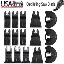 15 Pc Oscillating Multi Tool Saw Blade For Fein Milwaukee Bosch Dremel Makita