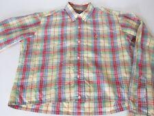 RALPH LAUREN Plaid Long Sleeve Shirt Youth Girls size 20