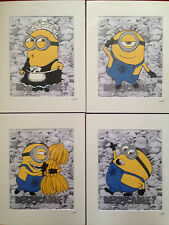 Despicable Me - Minions Collection -  Hand Drawn & Hand Painted Cels