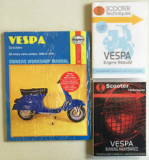 Vespa Rotary Valve Models 1959-78 with Running Maintenance & Engine Rebuild DVDs