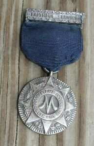 ANTIQUE Sterling Silver METROPOLITAN LIFE INSURANCE Medal TIFFANY Lot L