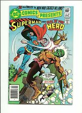 DC COMICS PRESENTS #44 (VF-) DC 1982 SUPERMAN AND DIAL H FOR HERO