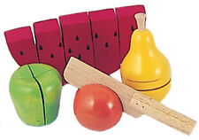 *NEW IN BOX* Deluxe Wooden Fruit Chopping Set