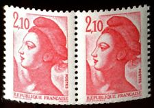 TIMBRE VARIETES : LIBERTE : 2,10 Rouge N° Yvert : 2319 L38H