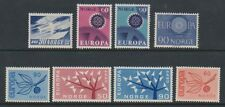 Norway - 1960/67, 8 x Issues - MNH - Mainly Europa sets