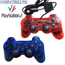 CONTROLLER CON FILO COMPATIBILE PS2 PLAYSTATION2 JOYPAD JOYSTICK PER PS2