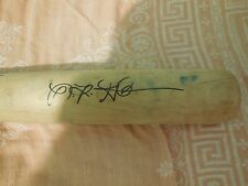 Niko Goodrum Autographed Game USED Baseball Bat Signed Twins Top Prospect