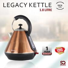 1.8L Electric Kettle Premium Jug Quick Boil Hot 2200W Axinte Copper SQ