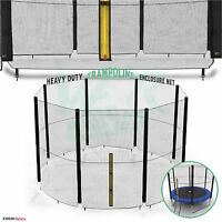 6FT 8FT 10FT 12FT 14FT Replacement Trampoline Safety Net Enclosure Surround