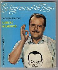 CLEMENS WILMENROD-Fernsehkoch-Es liegt mir auf der Zunge-Widmung Gisela Grieger-