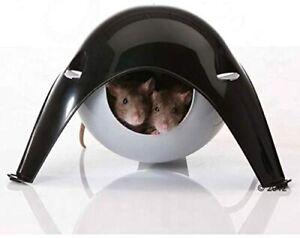 Sputnik Hanging Hammock Floor Standing Den Retreat Bed Rats Hamster Mice Gerbils