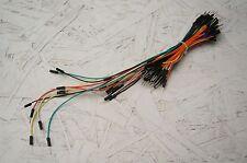 USA Ship- 65pcs Breadboard Jumper Wire Cable Assort. +10 extra = 75pcs