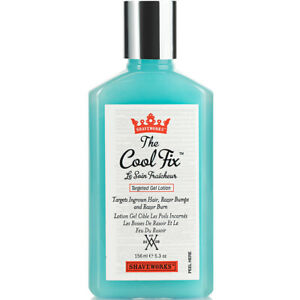 Shaveworks The Cool Fix, After Shave and Post Waxing Solution for Ingrown Hair