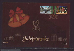 Norway 2020 FDC - Christmas - Christmas Streets and Markets - Golden FDC