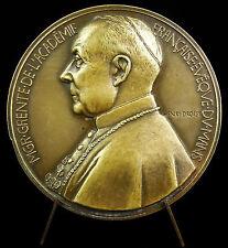 Médaille au Cardinal Evèque du Mans Georges Grente 1943 sc Dropsy métal F medal