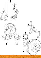TOYOTA OEM Anti-lock Brakes-Speed Sensor 8954233010
