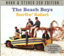 The Beach Boys - Surfin' Safari - Mono & Stereo 2CD Edition (CD 2013) NEW/SEALED