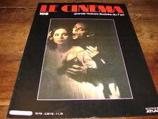 KLAUS KINSKI & ISABELLE ADJANI - Mini poster COUV DE MAG LE CINEMA !!!!!!!!!!!!