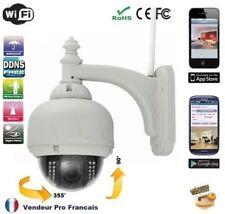 Caméra IP CCTV Extérieur étanche Dome  sans fil WIFI  Smartphone Internet