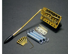Gold Tremolo for Strats, Fits MIM and Import Fender, Guitar Parts!