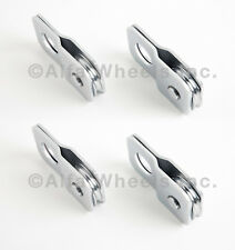 (4) 8000lbs 4 TON Silver vehicle recovery Winch Pulley Snatch Block off road ATV