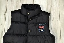 TOMMY HILFIGER MEN'S BLACK GILET SLEEVELESS _size L large