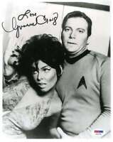Yvonne Craig Psa Dna Coa Autograph 8x10 Star Trek Photo Hand Signed