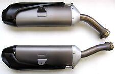 Yamaha originales de olla de escape-set (li. & re.) para yzf-r1, tipo rn19-usado -