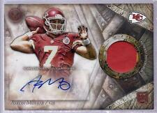 AARON MURRAY 2014 Topps Valor PATCH Autograph JERSEY Rookie Card SP Chiefs