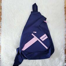 HEAD Navy Pink Sling Shoulder Backpack Cross Body Messenger Gym Outdoor