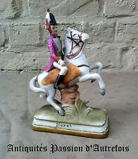"B2016449 - Figurine "" Murat "" à cheval en biscuit de porcelaine - 1950-70"
