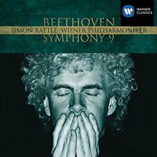 Sir Simon Rattle - Beethoven Symphony No9  EMI Masters [CD]
