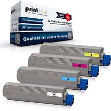 4x Jumbo Toner Cartridges for Oki C 9650 Hn Laser Cartridges