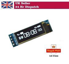 """0.91"""" 128X32 BLUE OLED LED Display Module IIC I2C Raspberry Pi Arduino"""