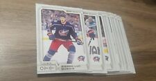 2018-19 OPC Columbus BLUE JACKETS TEAM SET (DOES NOT INCLUDE ROOKIES OR SPS)